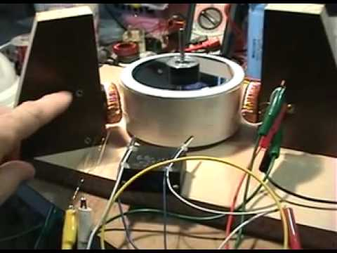 GOBO Magnet Motor test 5 Video