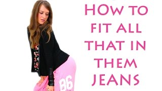 How do I fit all that in them jeans? | Ez Answers!