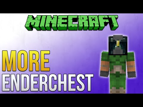 Minecraft: More Essential Enderchest (Minecraft Tutorial)