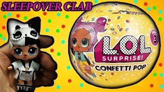NEW  LOL SURPRISE CONFETTI POP Series 3 Custom DIY   Sleepover Club Doll   How to Make