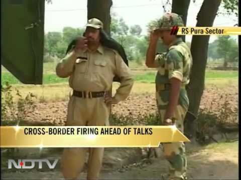 BSF team pinned down by Pak Rangers in J&K