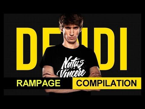 Dota 2 Dendi Rampage Compilation vol.2