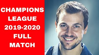 TIMO Boll - ARUNA Quadri FULL MATCH | Champions League 2019 - 2020 TABLE TENNIS