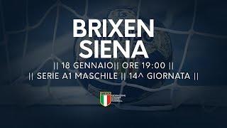 Serie A1M [14^]: Brixen - Siena 29-28