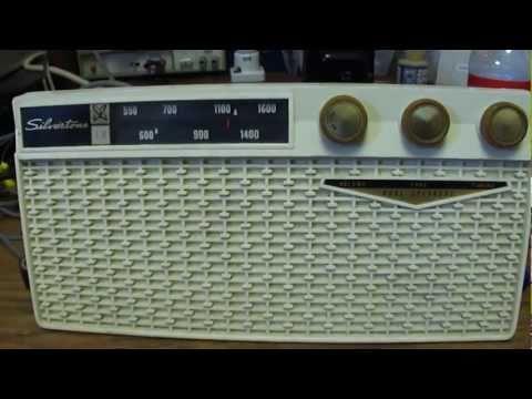 Early 1960's Sears Silvertone tube-type radio repair