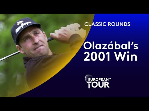 Olazábal's 2001 French Open Win | Classic Round Highlights