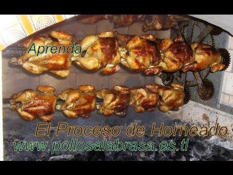 Pollos a la brasa: la Receta exacta, m�s detalles debajo del video.