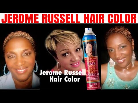 Jerome Russell Temporary Hair Color