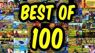 FUNNIEST MOMENTS of 100 videos - 1300th video special!