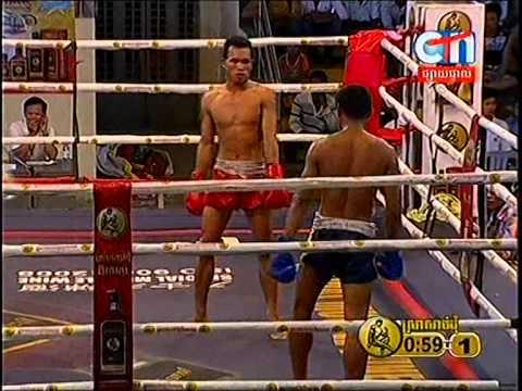 CTN Boxing, Pech Mab VS Heng Vi Chhay, 24-Aug-2014, Round 01