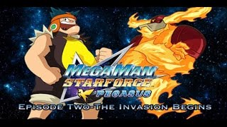 Megaman Starforce Fandub Episode 2: The Invasion Begins