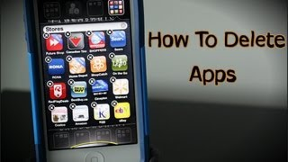 How To Delete Apps On The iPhone 5 & 6 - How To Use The iPhone 5 & 6