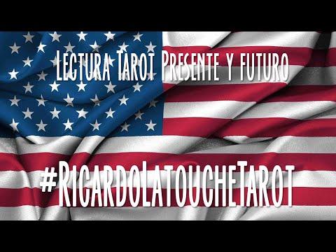 Video Lectura Tarot, Presente y Futuro USA, Elecciones Presidenciales Estados Unidos