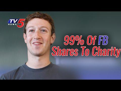 Mark Zuckerberg Pledges 99% Of Facebook Shares To Charity   Chan-Zuckerberg Initiative   TV5 News