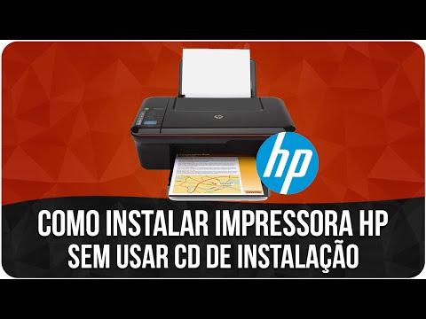 Como instalar uma impressora sem o cd