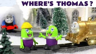 Thomas The Tank Engine in Where is Thomas Magical Good Luck story with the funny Funlings TT4U