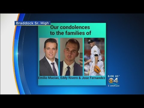 Loved Ones Remember Jose Fernandez's New Close Friends Killed In Crash