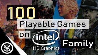 100 Juegos Jugables para Intel HD Graphics Family