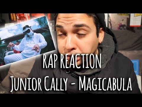 RAP REACTION • Junior Cally - Magicabula (Prod. Theodor Malkova) • Rizzo