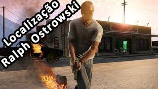 GTA V - Localização Ralph Ostrowski na pedreira, missão Trevor - Maude GTA 5