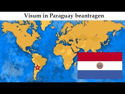 Paraguay auswandern   Visum in Paraguay beantragen