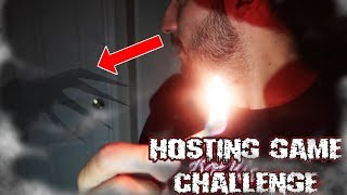 (SIRI SHOWED UP?!) DONT PLAY THE HOSTING GAME CHALLENGE AT 3 AM | *THIS IS WHY* (WE INVITED SIRI!)