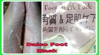 DAISO PEELING FOOT MASK