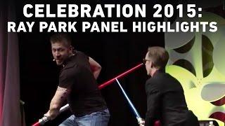 Ray Park Panel Highlights   Star Wars Celebration Anaheim