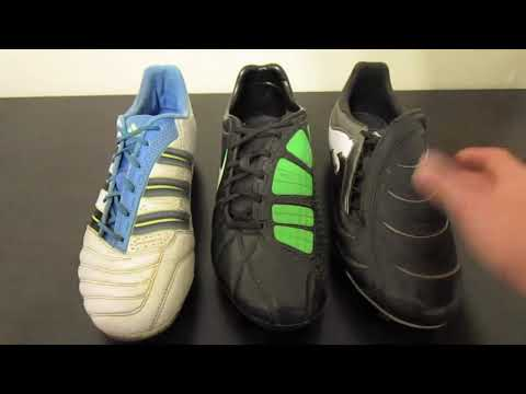 Adidas adipower Predator VS Nike T90 Laser III VS Puma PowerCat 1.10 - Comparison