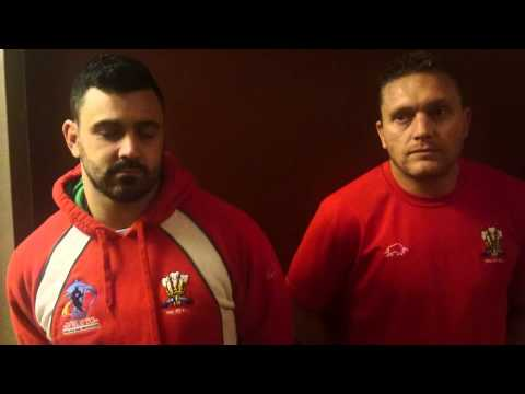 Christiaan Roets and Rhys Williams talk about Wales Rugby League's game in France this Saturday