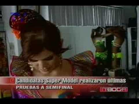 Candidatas Super Model realizaron ultimas pruebas a semifinales