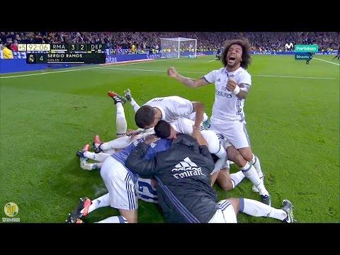 Real Madrid 3-2 Deportivo La Coruña (H) 10/12/16 1080p HD