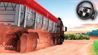 A VIAGEM COM CARGA ILEGAL no BRASIL!!! - Euro Truck Simulator 2 + G27