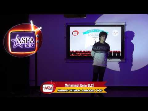 Asfa Talks KAB (Kur'an'ın Anlamıyla Buluşmak) AML-9-D - Muhammet Emin ELÇİ