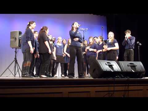 Northern Lights perform at Plymouth North High School (1st of two)