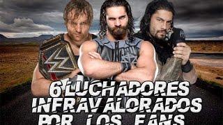 """6 Luchadores Infravalorados Por Los Fans En WWE """"Loquendo"""""""