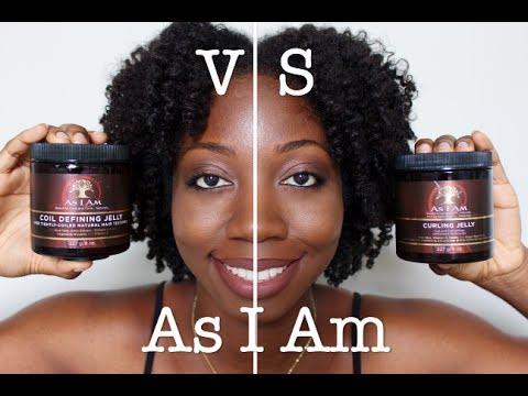Review & Comparison | As I Am Coil Defining Jelly VS Curling Jelly