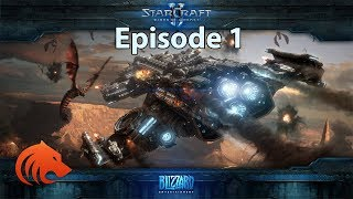 StarCraft 2: Wings of Liberty Campaign on BRUTAL + ALL the Achievements!!