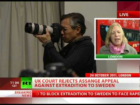 UK court rejects Assange appeal against extradition to Sweden