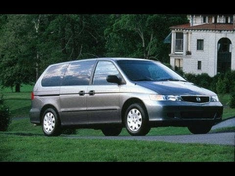 2001 Honda Odyssey Start Up and Review LX 3.5 L V6