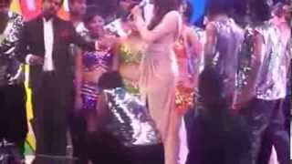 Kajal agarwal Gangnam Style dance at Tollywood Channel Launch function