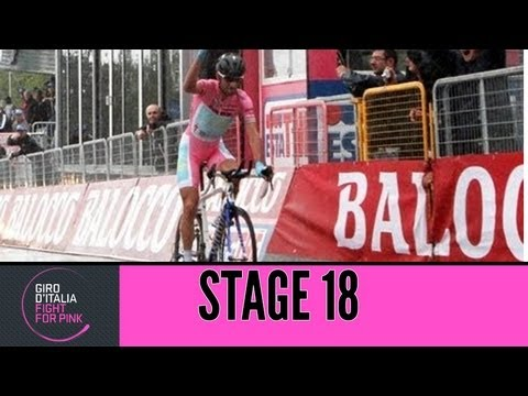 Giro d'Italia 2013 Tappa / Stage 18 Official Highlights