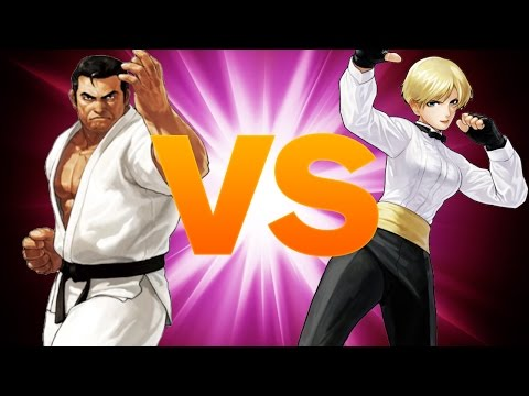 King of Fighters XIII Top 8 Finals - VGM Misterio vs. Woo - Evo 2014