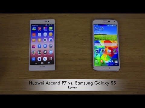 Huawei Ascend P7 vs. Samsung Galaxy S5