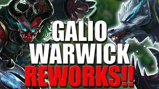 WARWICK & GALIO REWORKS CONFIRMED!! Finally! - League of Legends