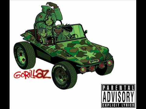Gorillaz-Double Bass
