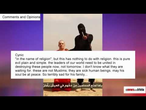 Opinions Ep2  Islamic State's Beheading on American James Foley