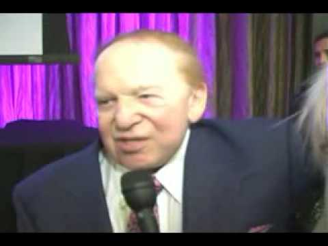 Billionaire Sheldon Adelson Gives Advice for Success