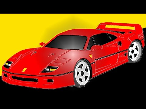 2018 ferrari f40. perfect ferrari 0241 photoshop 1987 ferrari f40 f40 to 2018 ferrari f40