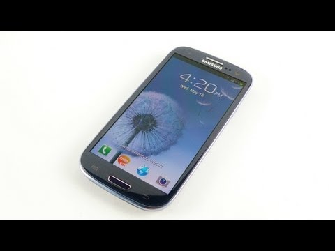 Samsung Galaxy S3 / SIII Unboxing and Hands On Review Pebble Blue - iGyaan HD